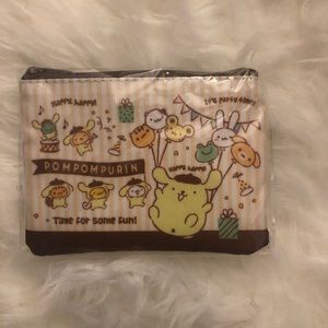 Pompompurin coin pouch